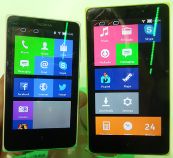 MWC 2014 – Nokia dévoile sa gamme X sous Android