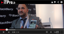 Assises de la Sécurité 2014 – Blackberry remonte la pente avec le Passport