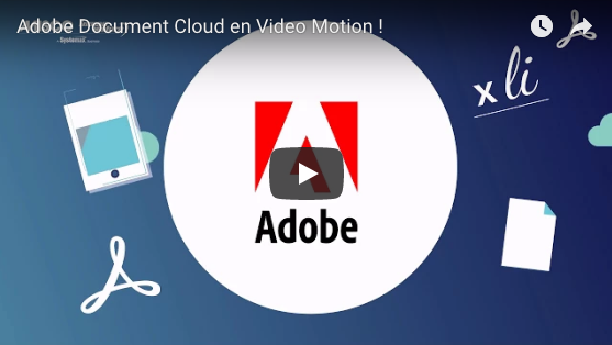 Adobe Document Cloud en Video Motion !