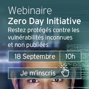 Webinaire Trend Micro Zero Day Initiative
