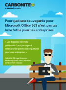 Guide de Sauvegarde Microsoft Office 365